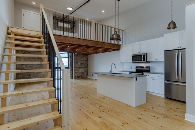 Loft Style Stairs